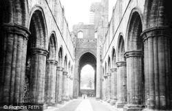 Kirkstall Abbey, Nave c.1955