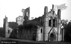 Kirkstall Abbey, North West 1888