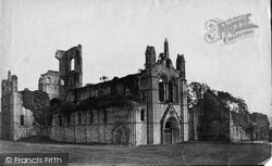 Kirkstall Abbey, North West c.1861