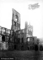 Kirkstall Abbey, South 1891