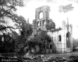 Kirkstall Abbey, South East 1888