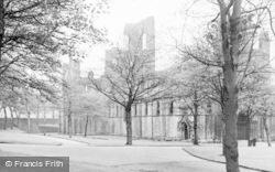 Kirkstall Abbey, The Abbey c.1955