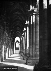 Kirkstall Abbey, The Cloisters 1959