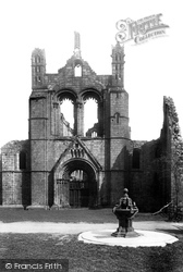 Kirkstall Abbey, West Front 1891