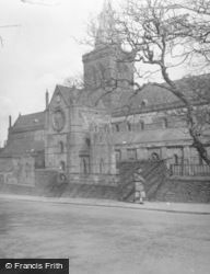 St Magnus Cathedral From South East 1958, Kirkwall