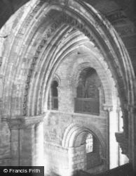 St Magnus Cathedral, View From South Triforim 1960, Kirkwall