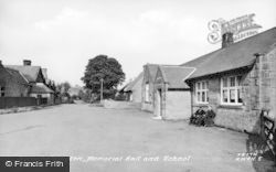Kirkwhelpington, Memorial Hall And School c.1955