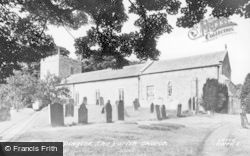 Kirkwhelpington, The Parish Church c.1955
