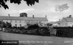 The Post Office Terrace c.1955, Kirkwhelpington