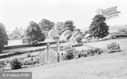 Kirkwhelpington, The Village From The East c.1955
