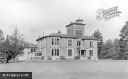 Kirn, Dhalling Mhor From The Lawn c.1955