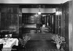 Dhalling Mhor, Hall From The Dining Room c.1950, Kirn