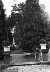 Dhalling Mhor, The Fountain From The Terrace c.1955, Kirn