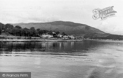 Kirn, Entrance To Holy Loch c.1955
