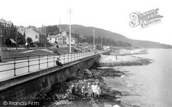 Kirn, Esplanade 1901