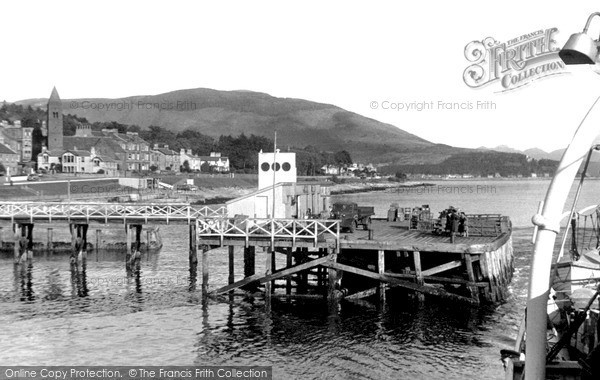 Photo of Kirn, Leaving The Pier For Dunoon c.1955