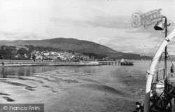 Leaving The Pier For Dunoon c.1955, Kirn