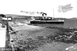 Steamer At The Pier c.1955, Kirn