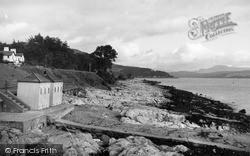 Kirn, The Beach c.1955