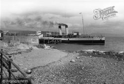The Pier c.1955, Kirn