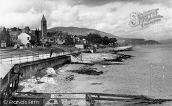 The Promenade From The Pier c.1955, Kirn