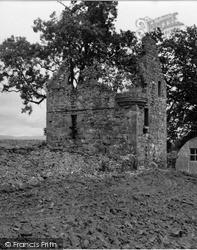Kirriemuir, Ballinshoe Castle 1954