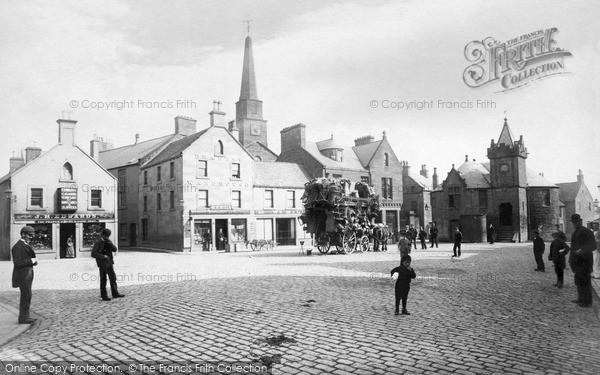 Photo of Kirriemuir, High Street c.1890