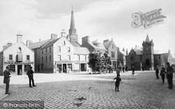 Kirriemuir, High Street c.1890