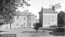 Bonshaw Tower c.1955, Kirtlebridge
