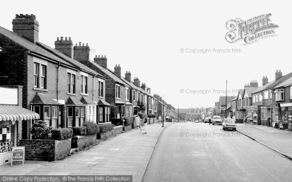 Kiveton Park, Wales Road C.1965