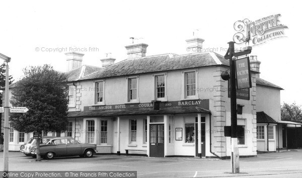 The Anchor Hotel, c.1965 Reproduced courtesy of The Francis Frith Collection