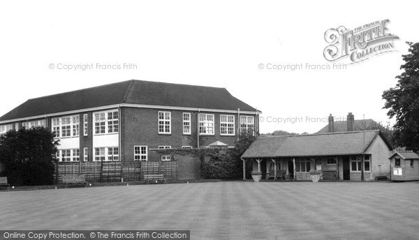 Knaphill, Bowling Green and School c1965