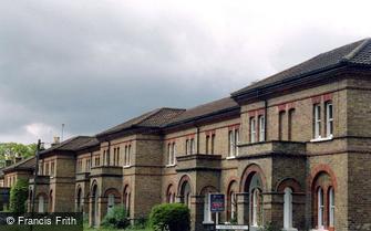 Knaphill, Inkerman Barracks 2004