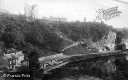 Knaresborough, Castle Hill 1892