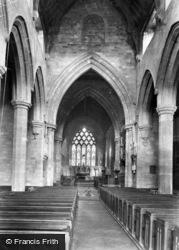 Knaresborough, Church Of St John The Baptist, Interior 1911