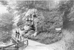 Knaresborough, Dropping Well And Mother Shipton's Wishing Well 1911