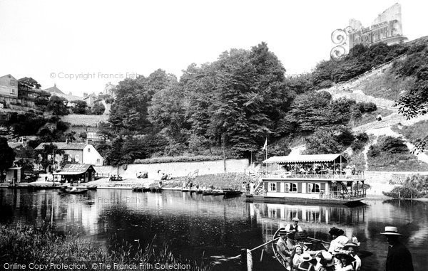 Knaresborough, Ferry to Dropping Well 1911
