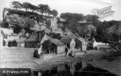 Knaresborough, From Low Bridge 1892