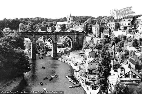 Knaresborough, general view c1950