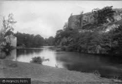 Knaresborough, Grimald Crag And The River Nidd 1892