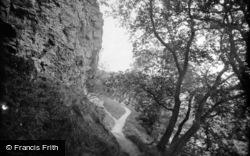 Knaresborough, Grimbald Crag Above The River Nidd 1914
