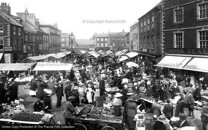 Knaresborough, Market Day 1921