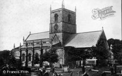 Knaresborough, Parish Church Of St John The Baptist c.1874