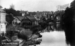 Knaresborough, River Nidd 1906