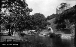 Knaresborough, River Nidd And The Castle 1911