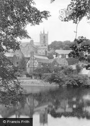 Knaresborough, St John's Church And Old Manor House 1911