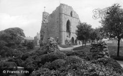 Knaresborough, The Castle 1914