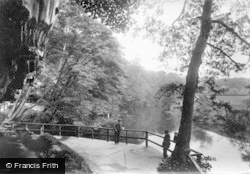 Knaresborough, The Dropping Well And River Nidd 1911