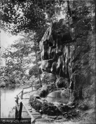 Knaresborough, The Dropping Well c.1873