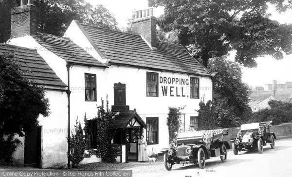 Knaresborough, the Mother Shipton Inn 1914